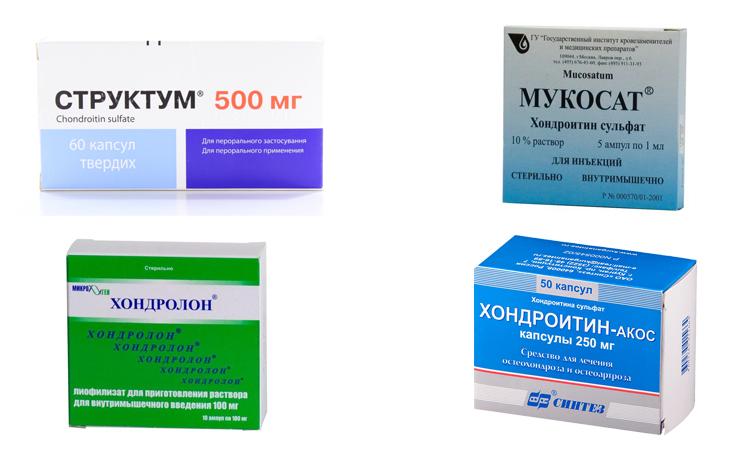 Препараты на основе хондроитина