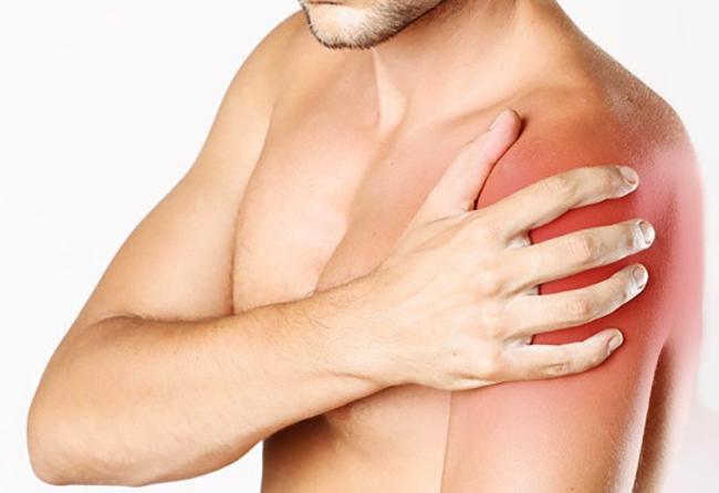 Сильная боль в левом плече