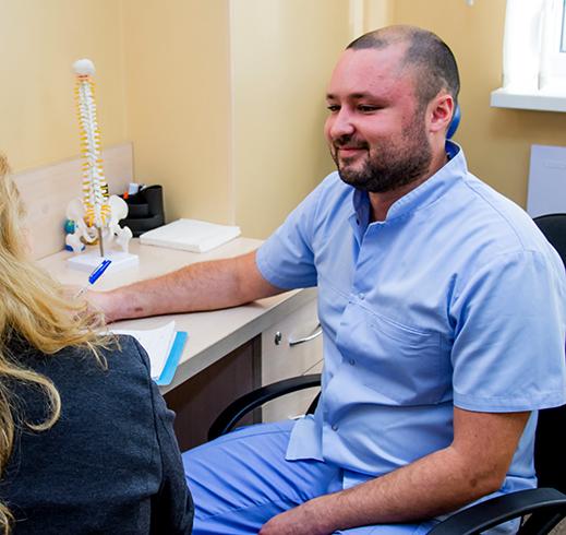 На приеме у ортопеда-травмотолога