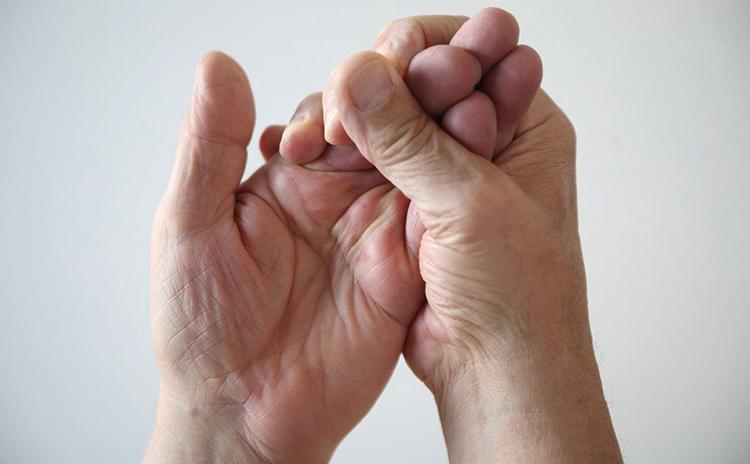 Онемение кончиков пальцев