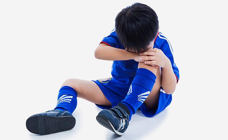 У ребенка заболели колени