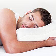 Как нужно правильно спать при шейном остеохондрозе