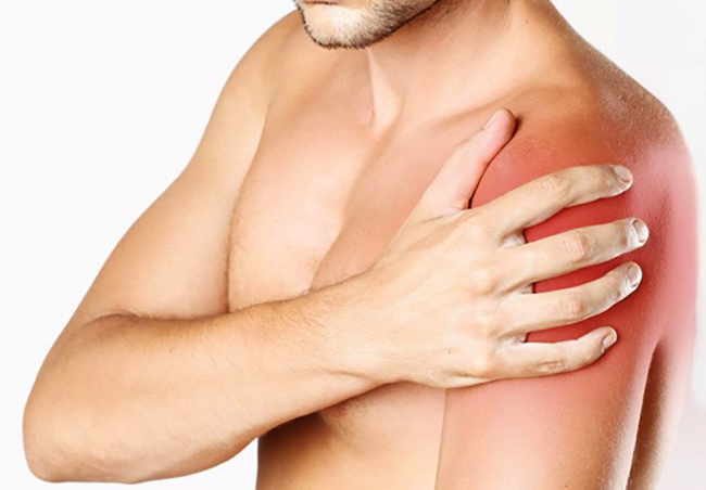 Боль в плечевом суставе левой руки
