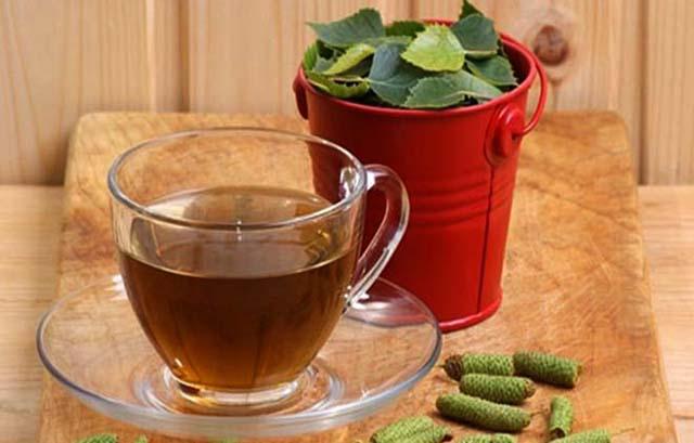 Чай из берёзовых почек