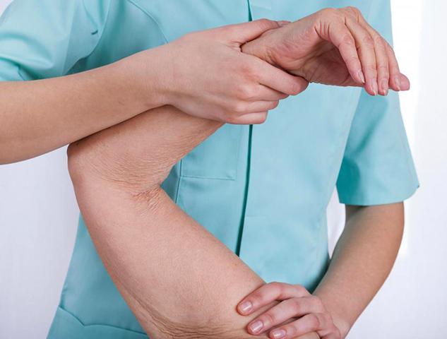 Диагностика контрактуры