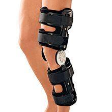 Ортез для коленного сустава — особенности выбора и использования