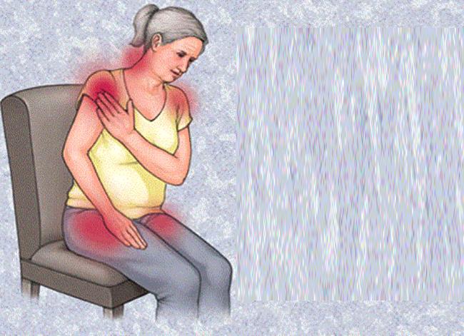 Боль в тазу и плечах