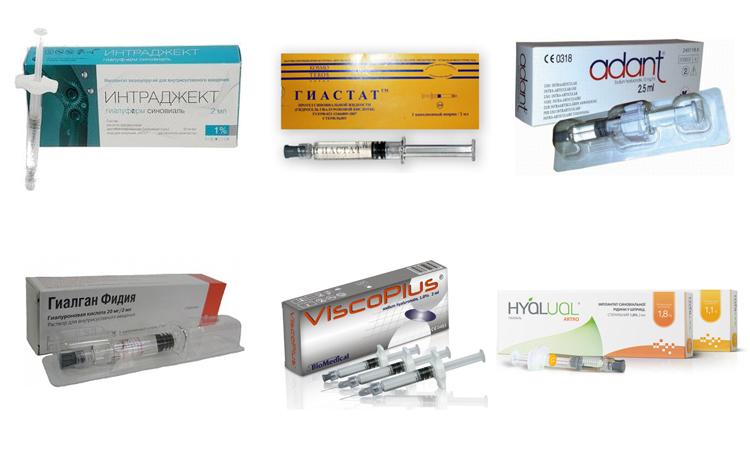 Препараты с гиалуроновой кислотой