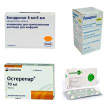 Бисфосфонаты для лечения остеопороза: что это, инструкция и описание препаратов