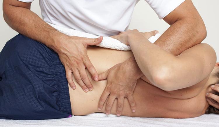 Работа остеопата