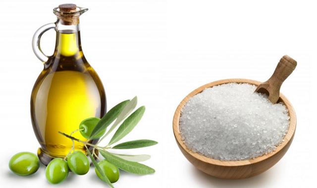 Соль и масло