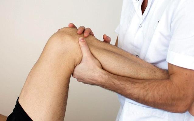 Упражнение для колена