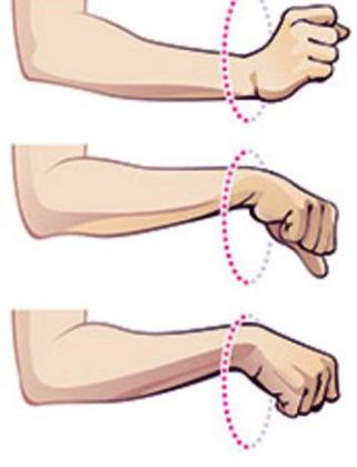 Упражнения на запястье
