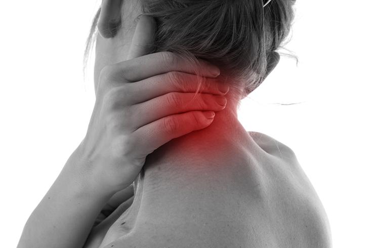 Сильная боль у основания черепа