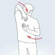 Гимнастика и упражнения после вывиха плечевого сустава