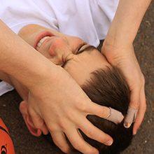 Ушиб мягких тканей головы: симптомы, первая помощь и лечение