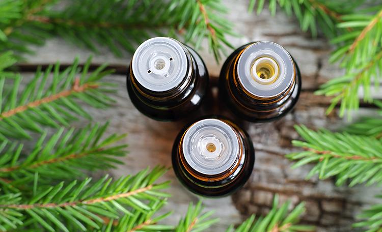 Пузырьки с пихтовым маслом